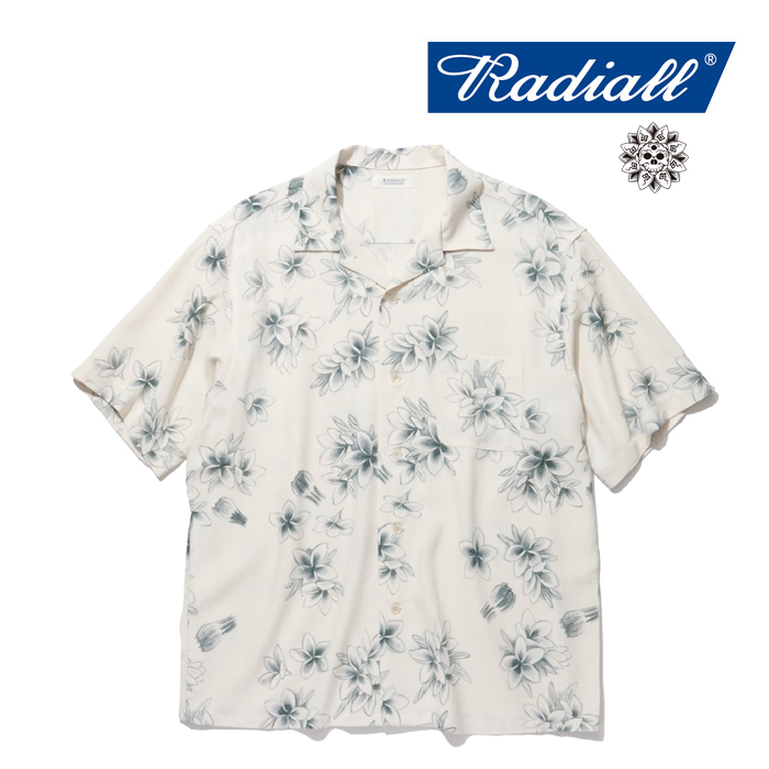 RADIALL(ラディアル) REQUEST MUSIC-OPEN COLLARED SHIRT S/S 【2019 SPRING&SUMMER COLLECTION】 【RAD-19SS-JW006】【半袖 レー