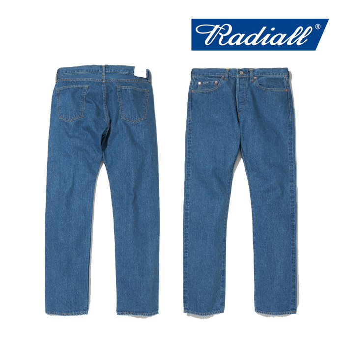 RADIALL(ラディアル) KUSTOM 235B-SLIM FIT PANTS 【デニムパンツ ジーンズ 定番 スリム】【2020 AUTUMN&WINTER COLLECTION】【RAD