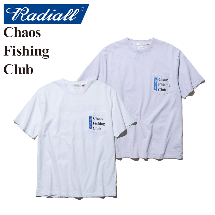 RADIALL(ラディアル)×CHAOS FISHING CLUB(カオス フィッシングクラブ) BLUE HOURS-CREW NECK T-SHIRT S/S 【2019 SPRING&SUMMER SP