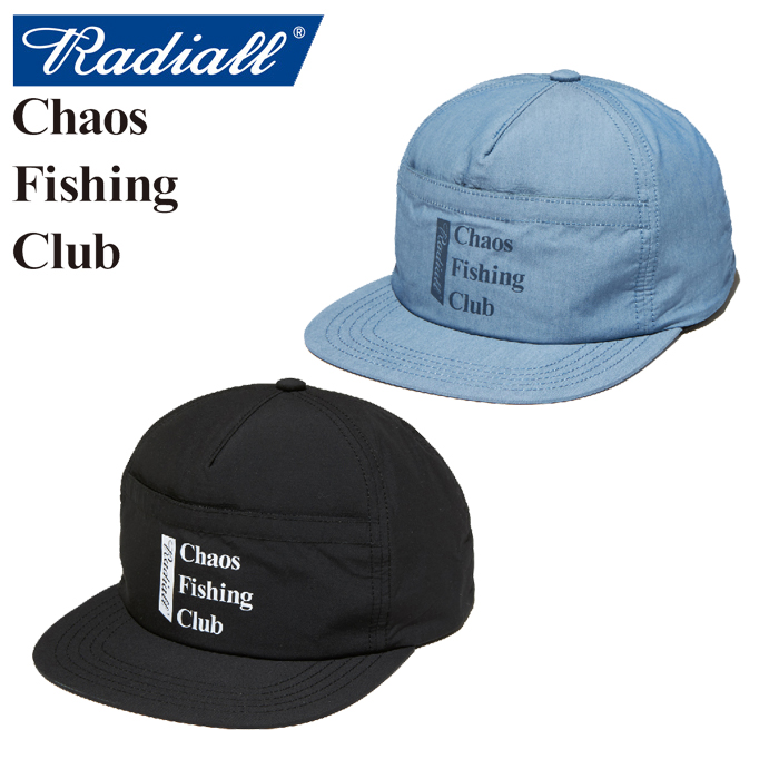 RADIALL(ラディアル)×CHAOS FISHING CLUB(カオス フィッシングクラブ) BLUE HOURS-TRUCKER CAP 【2019 SPRING&SUMMER SPOT COLLECT