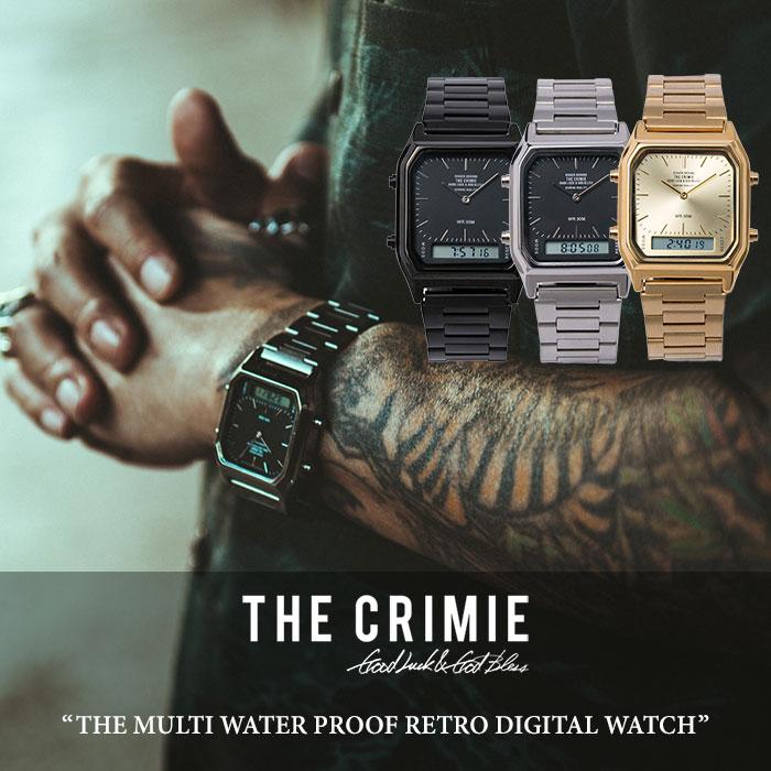 CRIMIE(クライミー) THE MULTI WATER PROOF RETRO DIGITAL WATCH 【2018 SUMMER先行予約】 【送料無料】【キャンセル不可】 【C1