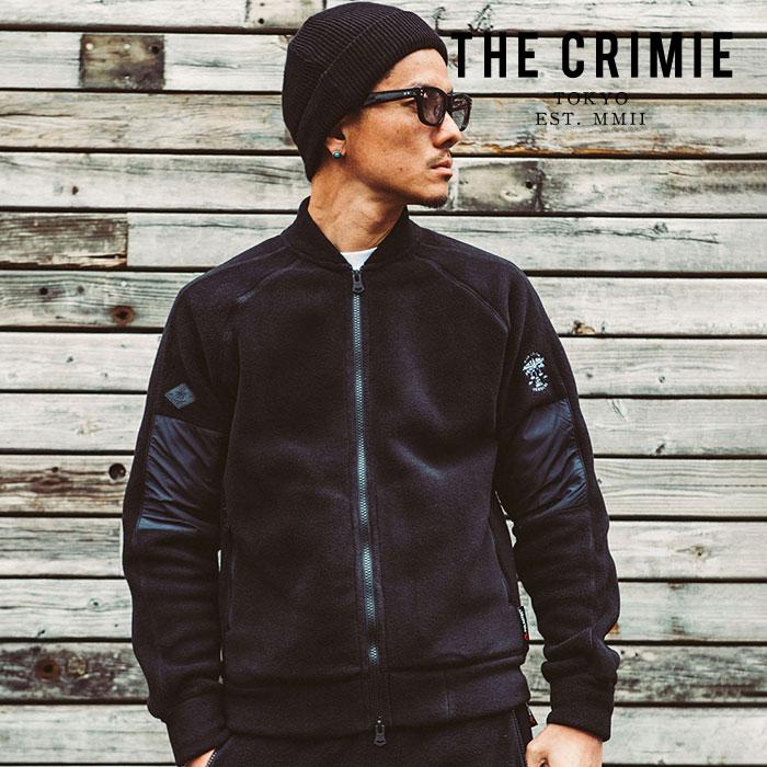 CRIMIE(クライミー) POLARTEC FLEECE ZIP JACKET 【フリースジャケット】【ブラック ポーラテック】【送料無料】【CR01-01K5-JK40