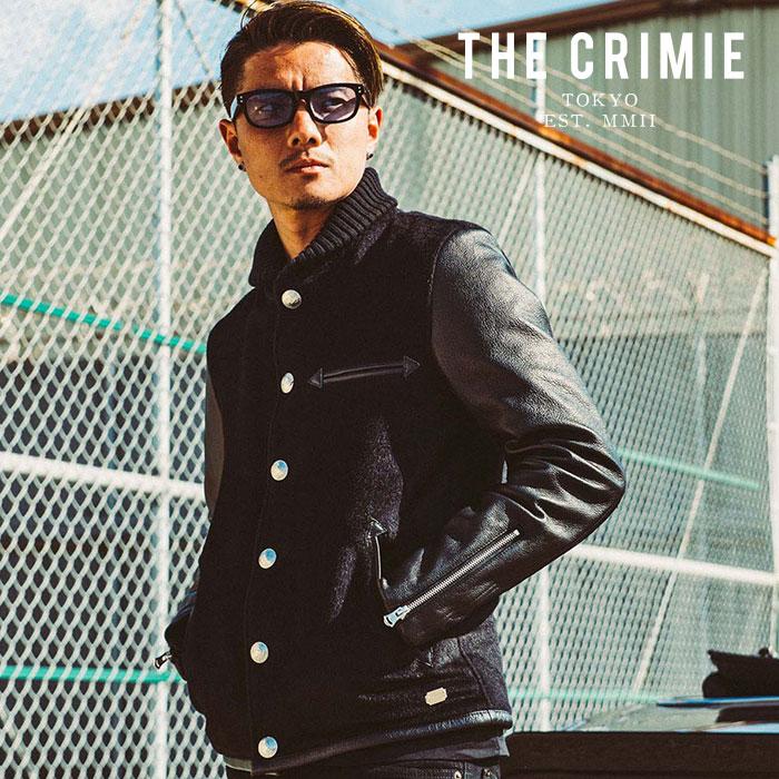 CRIMIE(クライミー) ALPACA AWARD JACKET 2 【アルパカアワードジャケット】【スタジャン ブラック 黒 アメカジ】【2019AUTUMN&WIN