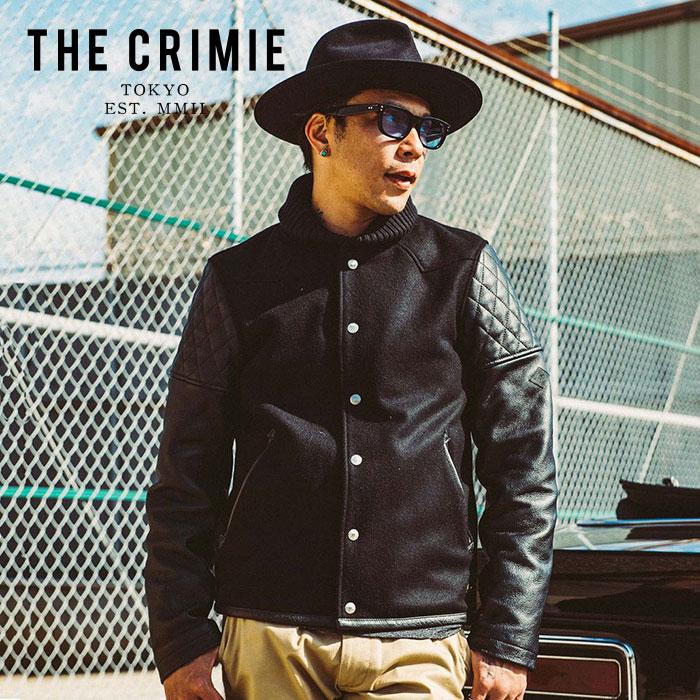 CRIMIE(クライミー) WESTERN AWARD JACKET 【ウエスタンアワードジャケット】【スタジャン アメカジ ブラック 黒 おしゃれ】 【20
