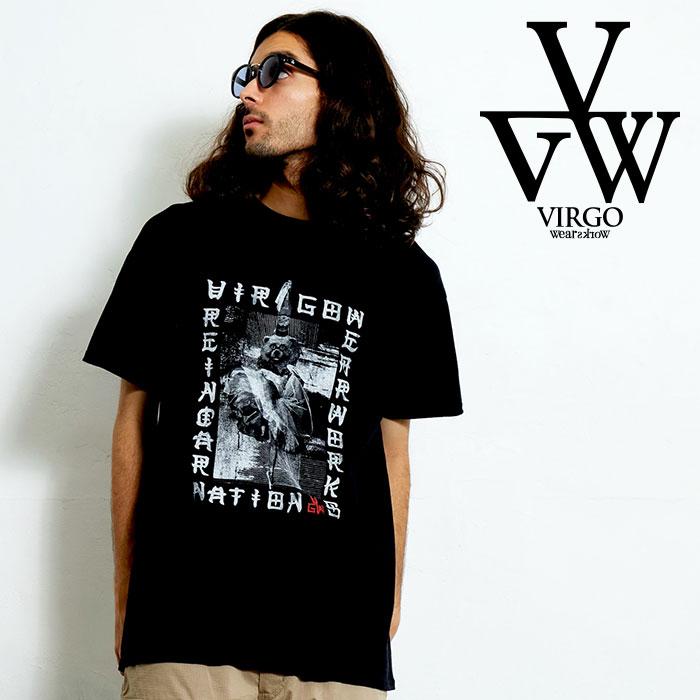 VIRGO ヴァルゴ バルゴ SCARRY PICTURE BOOK S/S 【Uziii×VIRGOwearworks】 【Tシャツ】【VG-CB-91】【2020SPRING&SUMMER新作】