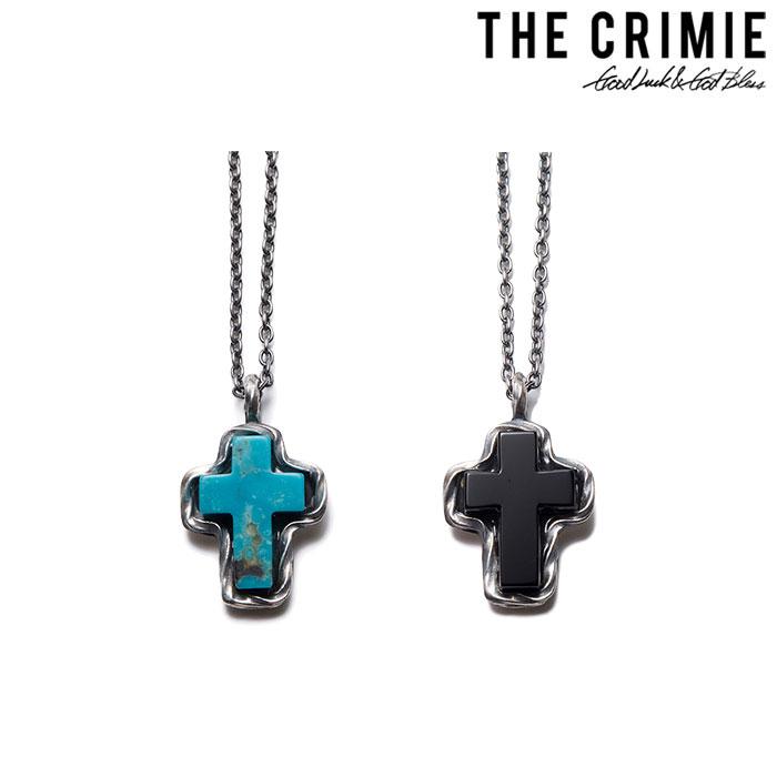 CRIMIE(クライミー) G&G STONE CROSS 【送料無料】【キャンセル不可】 【CRIMIE ネックレス】【C1H1-CXAG-GC01】