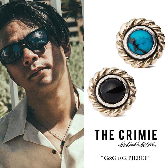CRIMIE(クライミー) G & G 10K ONYX PIERCE 【2018 SUMMER先行予約】 【送料無料】【キャンセル不可】 【C1H3-CXAG-GP02】 【CR