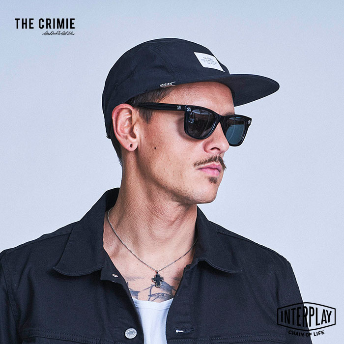 CRIMIE クライミー URBAN MILITARY CAP CR1-02A1-HW01  ミリタリー キャップ 帽子 ジェットキャップ 5パネル カジュアル ストリート