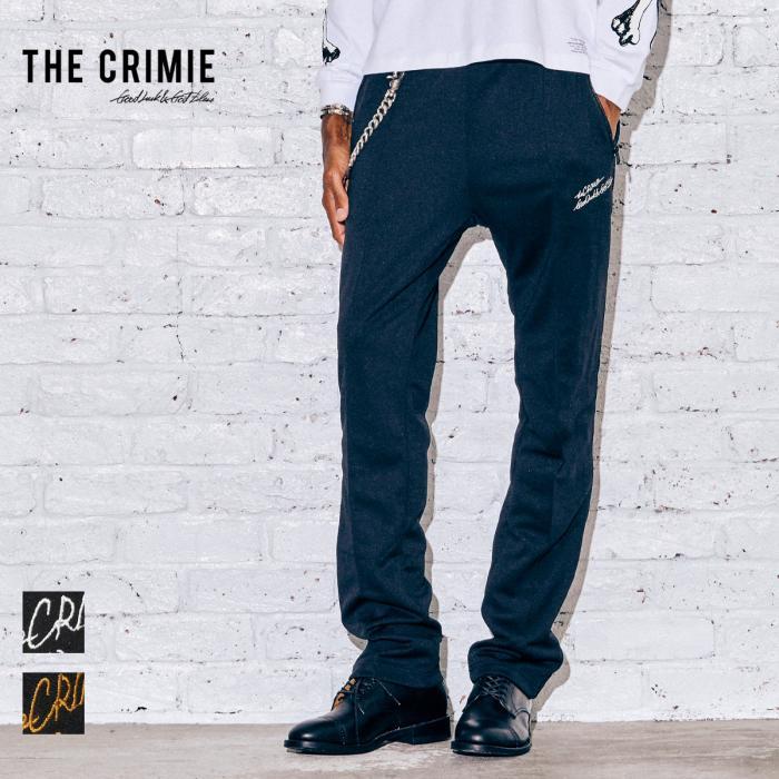 【取り寄せ対応】CRIMIE クライミー JASON JERSEY TRACK PANTS CR1-02A5-PL04 21AW JASON ジャージ トラックパンツ パンツ カジュア