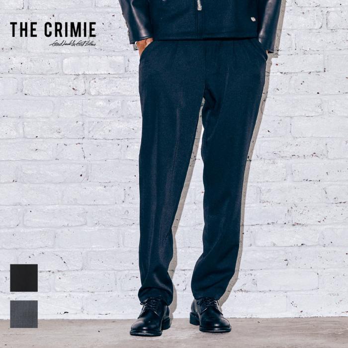 【取り寄せ対応】 CRIMIE クライミー NEIL STRETCH SUIT TACK PANTS CR1-02A5-PL10 21AW NEIL スラックス パンツ セットアップ タッ