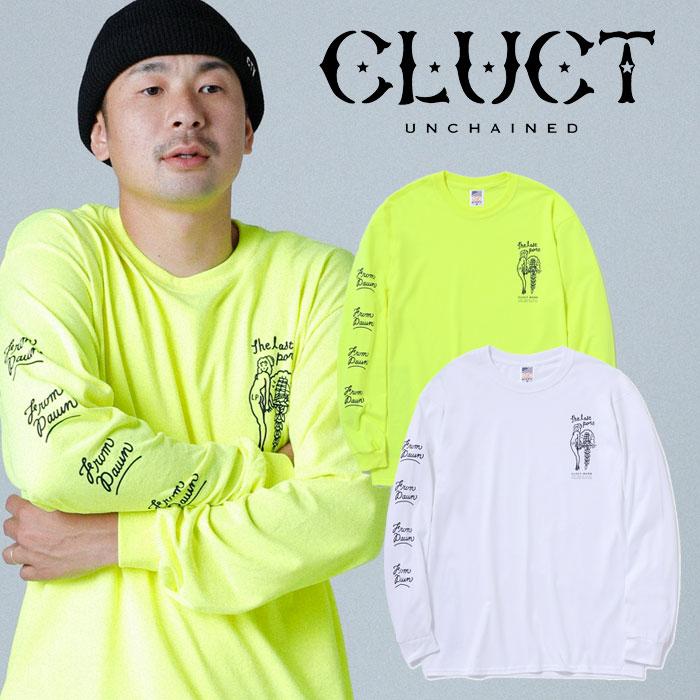 【SALE30%OFF】 CLUCT(クラクト) CC-THE LAST PORT L/S 【ロングスリーブTシャツ】【袖プリント ロンT おしゃれ】【セール】【201