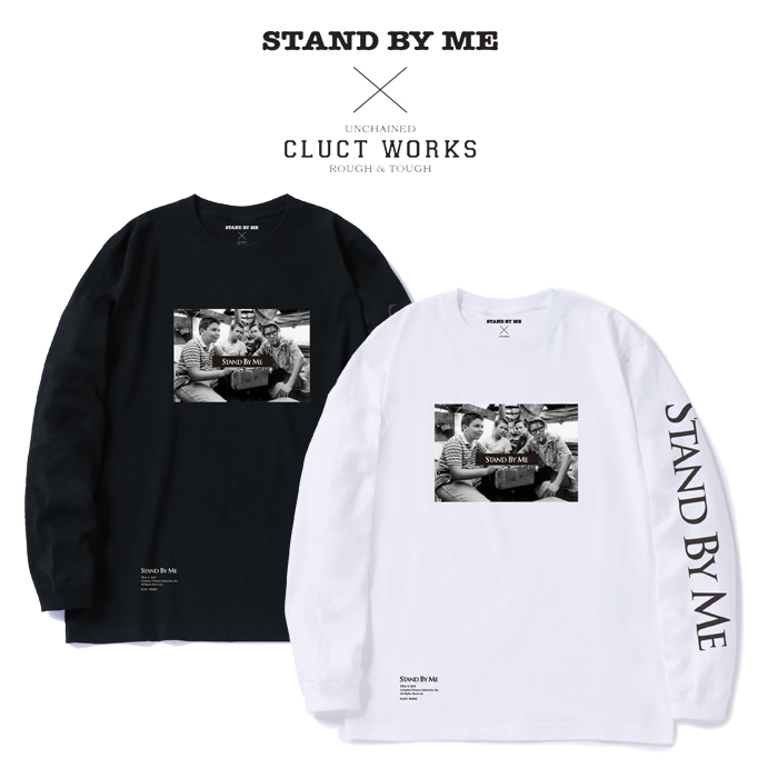 CLUCT(クラクト) DROP SHOULDER L/S【CLUCT×STAND BY ME】 【2019HOLIDAY新作】【#04008】【ロングスリーブTシャツ】【プリント お