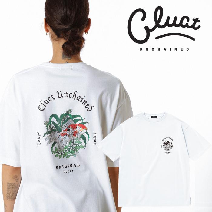 CLUCT(クラクト) KINGYO-S/S 【Tシャツ 半袖  おしゃれ 金魚】【黒ブラック 白 ホワイト】【2020 SPRING&SUMMER COLLECTION新作】
