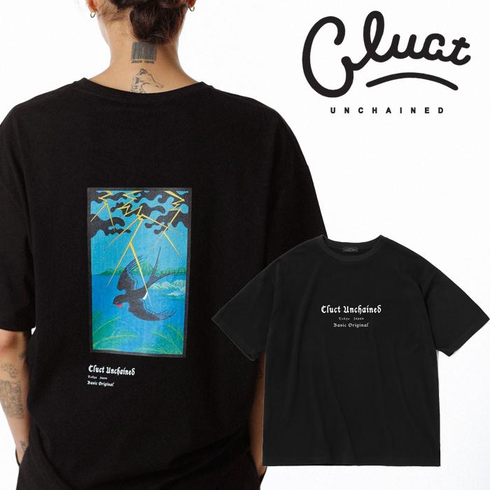 CLUCT(クラクト) CLT-TSBAME S/S 【Tシャツ 半袖  おしゃれ ツバメ】【黒ブラック 白 ホワイト】【2020 SPRING&SUMMER COLLECTION