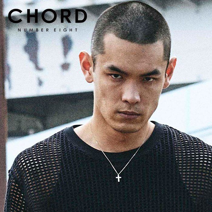 CHORD NUMBER EIGHT(コードナンバーエイト) CROSS NECKLACE 【ネックレス】【クロス シルバー シンプル おしゃれ 人気】【CHA1-02L