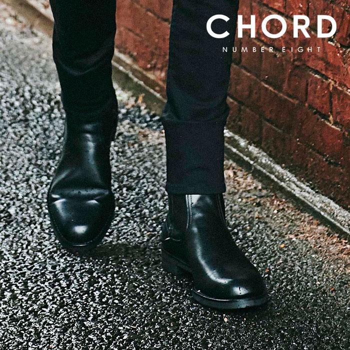 CHORD NUMBER EIGHT(コードナンバーエイト) JAMIE BOOTS 【ブーツ】【ブラック 牛革 おしゃれ 人気】【CHA1-02L1-FW02】【2020SPRI