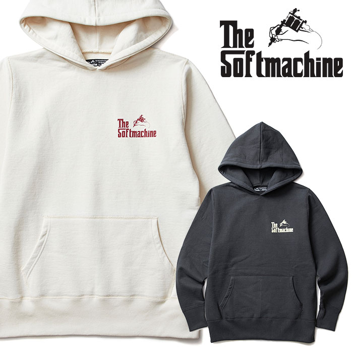 SOFTMACHINE(ソフトマシーン) GOD HOODED(SWEAT PARKA) 【2018AUTUMN/WINTER新作】【フード パーカー】