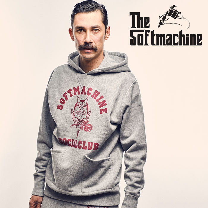 SOFTMACHINE(ソフトマシーン) SC HOODED(SWEAT PARKA) 【2018AUTUMN/WINTER新作】【フード パーカー】