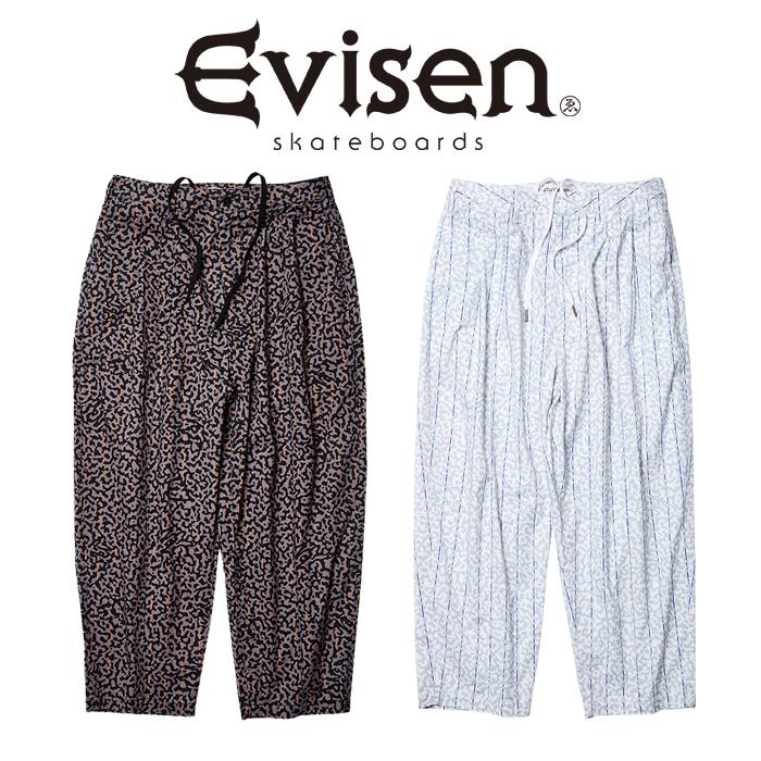 【EVISEN】 Evisen Skateboards (エヴィセン スケートボード)  SUPER RAT PANTS  【イージー パンツ】【2021SPRING&SUMMER COLLECT