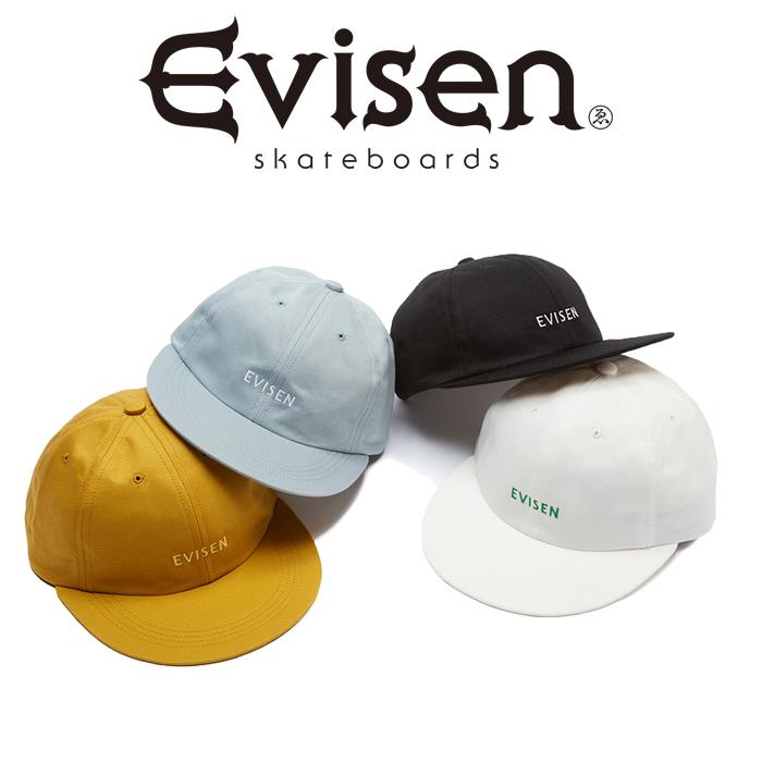 Evisen Skateboards (エヴィセン スケートボード) GROSGRAIN 6 PANEL 【6パネルキャップ 帽子】【2021 SPRING&SUMMER COLLECTION】