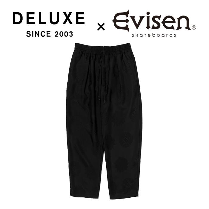 【EVISEN】 Evisen Skateboards (エヴィセン スケートボード)  DELUXE × EVISEN GARCONS PANTS  【イージーパンツ】【デラックス