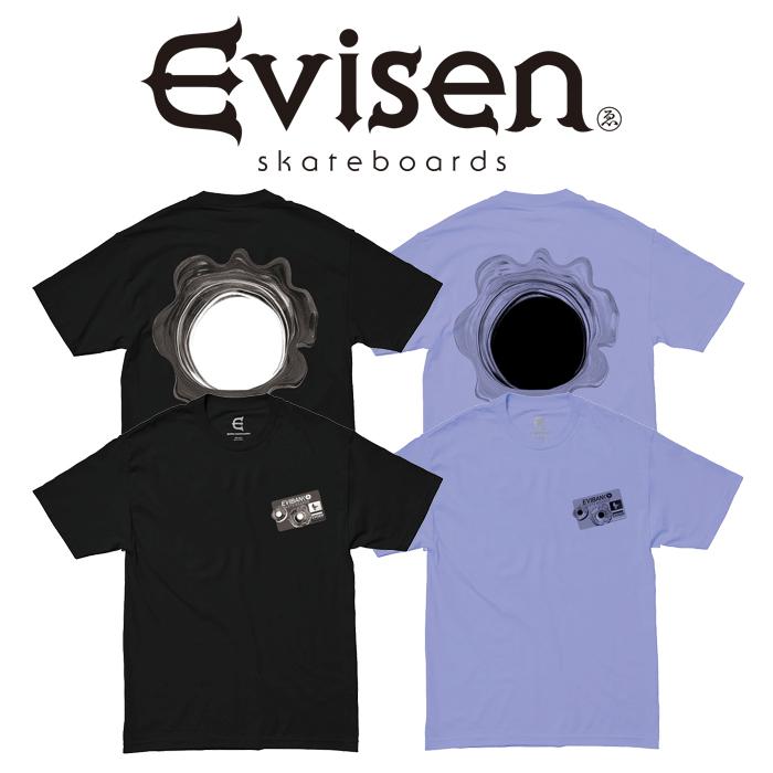 Evisen Skateboards (エヴィセン スケートボード) SHOT CARD 【Tシャツ 半袖 プリントT】【エビセン スケートボード Evisen Skateb