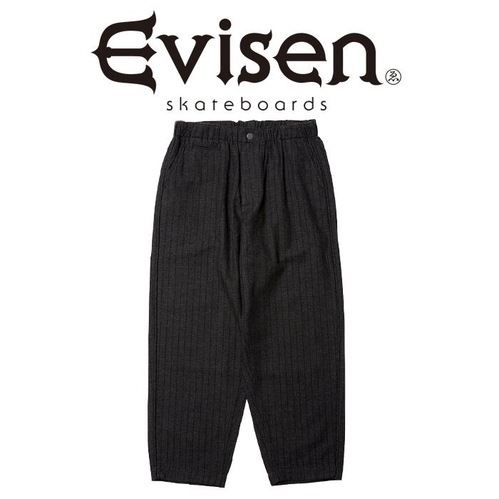 Evisen Skateboards (エヴィセン スケートボード) EASY AS PIE STRIPE WOOL PANTS 【ウール イージー パンツ】【2020FALL&WINTER C