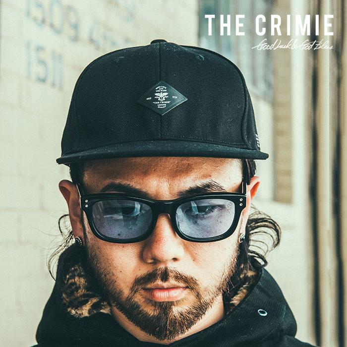 CRIMIE(クライミー) メンズ キャップ 帽子 ベースボールキャップ コットン100%【C1H5-CP02】 [フリーサイズ][ブラック 黒] カジュア