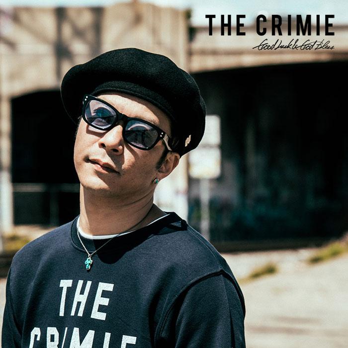 【SALE30%OFF】 CRIMIE(クライミー)メンズ ベレー帽 WOOL 100%【C1H5-CP03】【フリーサイズ】【ブラック 黒】秋冬 定番 シンプル 人