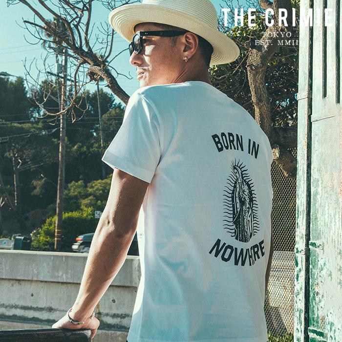 CRIMIE(クライミー) MARIA POCKET T-SHIRT 【ポケットTシャツ】【ブラック ホワイト アメカジ ミリタリー】【シンプル おしゃれ】