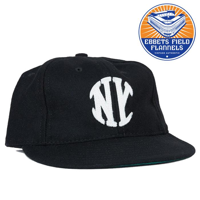 EBBETS FIELD FLANNELS(エベッツフィールドフランネルズ) NY Knickerbocker 1912 CAP 【キャップ 帽子】