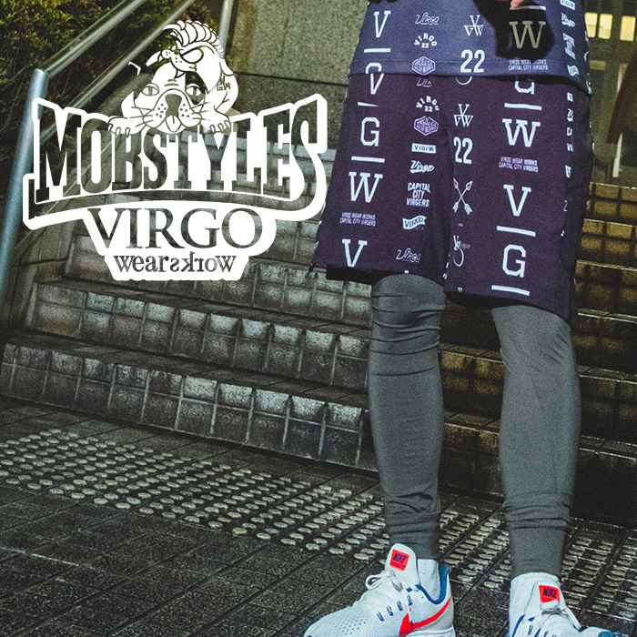 VIRGOwearworks×BOUNTY HUNTER/MOBSTYLES  MOB×VGW AMAZE MOSH PANTS 【パンツ セットアップ】【VG-CB-103】【MOBSTYLES】【コラボ
