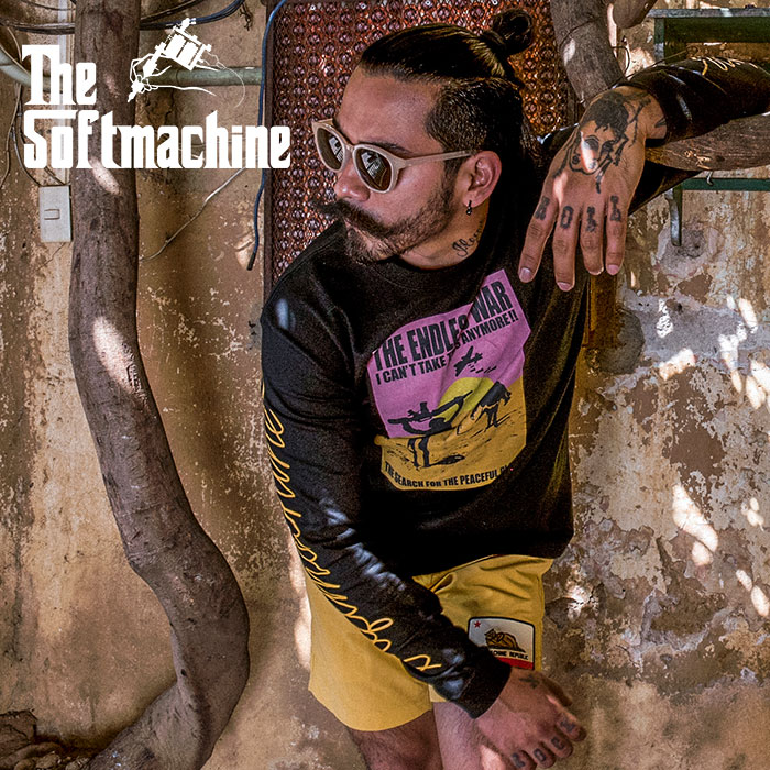 SOFTMACHINE(ソフトマシーン) THE SEARCH L/S(L/S T-SHIRTS) 【2019SUMMER VACATION新作】【ロングスリーブTシャツ】