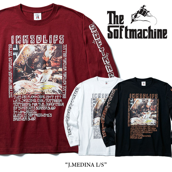 【SALE40%OFF】 SOFTMACHINE(ソフトマシーン) J.MEDINA L/S 【2017AUTUMN/WINTER新作】 【即発送可能】 【SOFTMACHINE ロングス