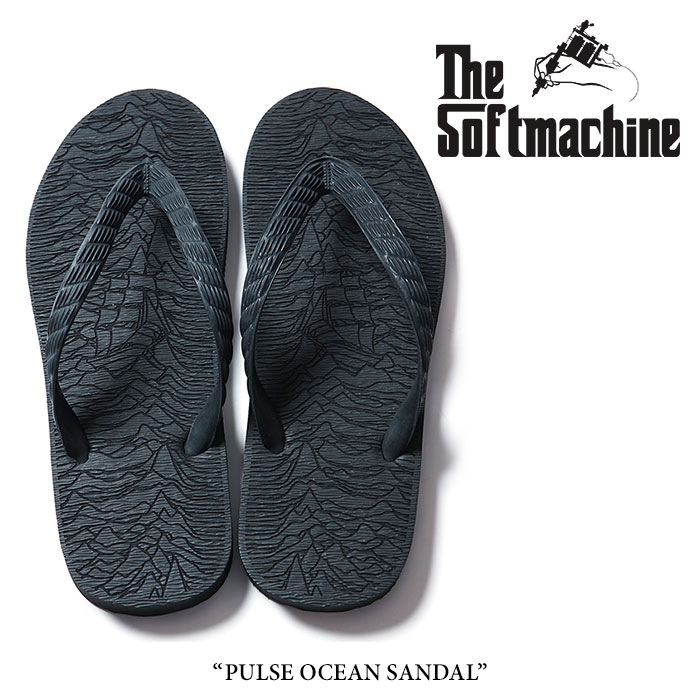 【SALE40%OFF】 SOFTMACHINE(ソフトマシーン) PULSE OCEAN SANDAL(BEACH SANDAL) 【2017SUMMER VACATION新作】【即発送可能】 【