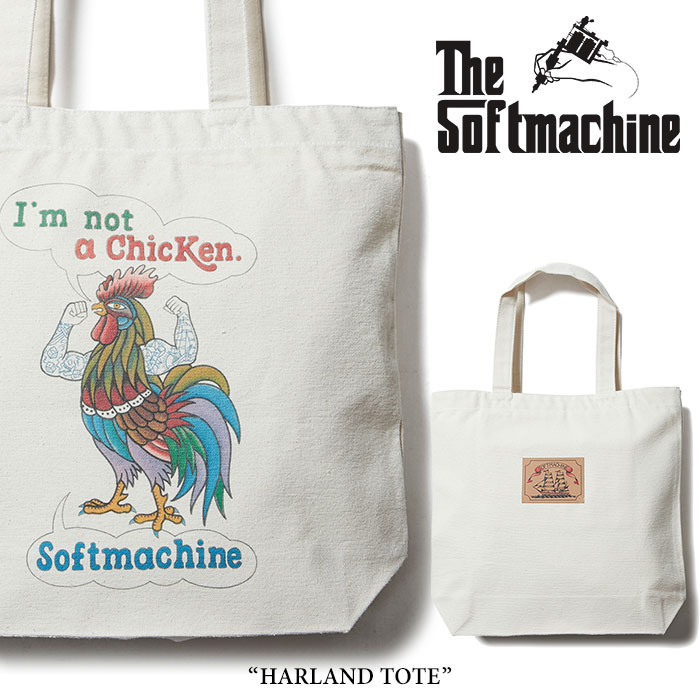 SOFTMACHINE(ソフトマシーン) HARLAND TOTE(TOTE BAG) 【2018SPRING/SUMMER新作】 【キャンセル不可】 【SOFTMACHINE バッグ】