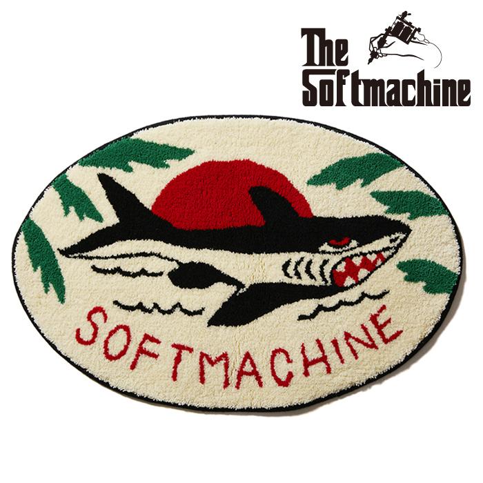 SOFTMACHINE(ソフトマシーン)  JAWS RUG(RUG) 【ラグ マット】【タトゥー】【2021 SUMMERVACATION先行予約】【キャンセル不可】