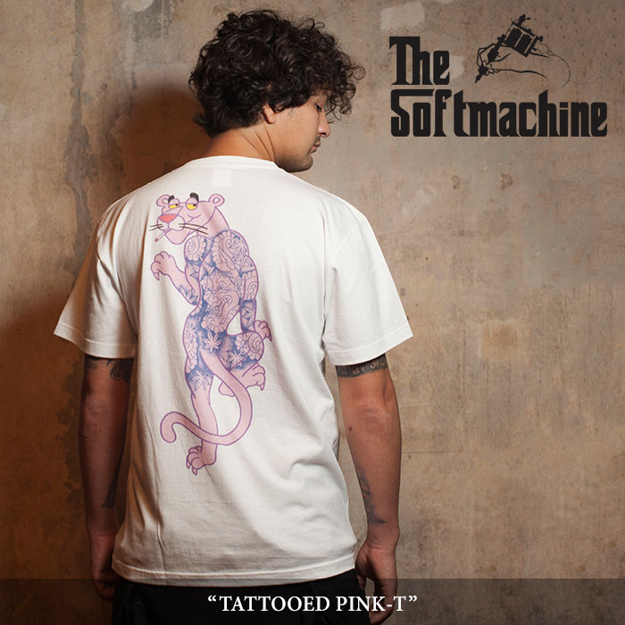 SOFTMACHINE(ソフトマシーン) TATTOOED PINK-T (T-SHIRTS) 【2018SPRING/SUMMER新作】 【即発送可能】 【SOFTMACHINE Tシャツ】
