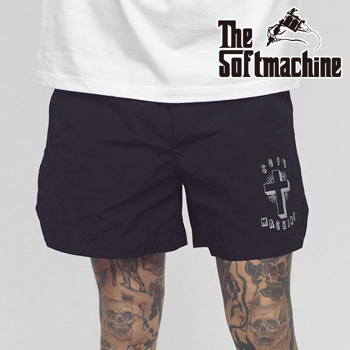 SOFTMACHINE(ソフトマシーン) TRUST SHORTS( TRAINING SHORTS) 【ショートパンツ】【ブラック グレー レッド タトゥー】【2021 SUM