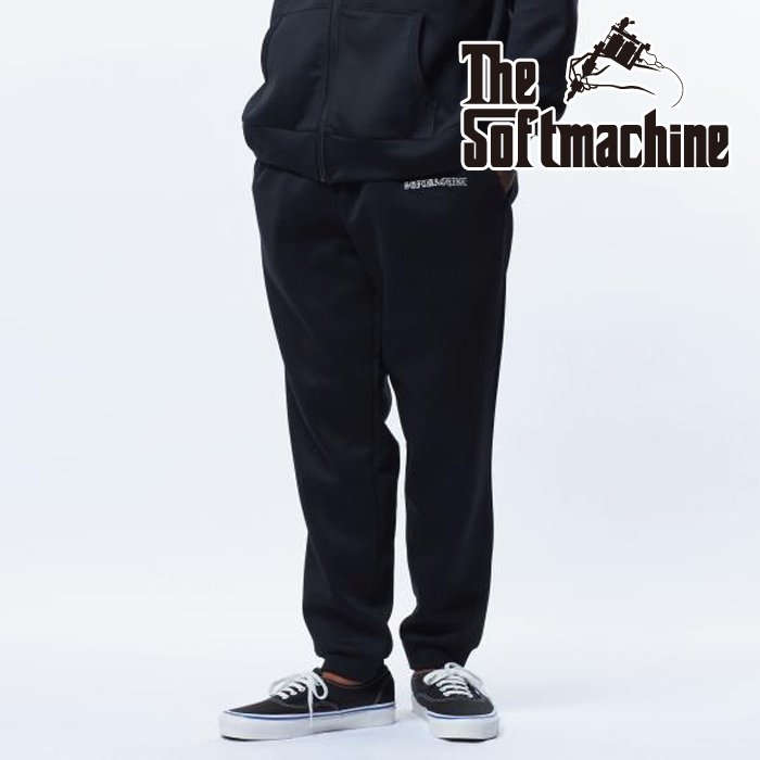 SOFTMACHINE (ソフトマシーン)  VATOS FLEECE PANTS 【パンツ】【ブラック グレー タトゥー】【2021 AUTUMN&WINTER 先行予約】【
