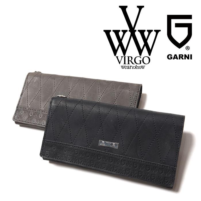 VIRGO ヴァルゴ バルゴ VIRGOwearworks×GARNI LABYRINTH LONG WALLET 【2018-19HOLIDAY/SPRING新作】 【VG-CB-75】【GARNI ガル