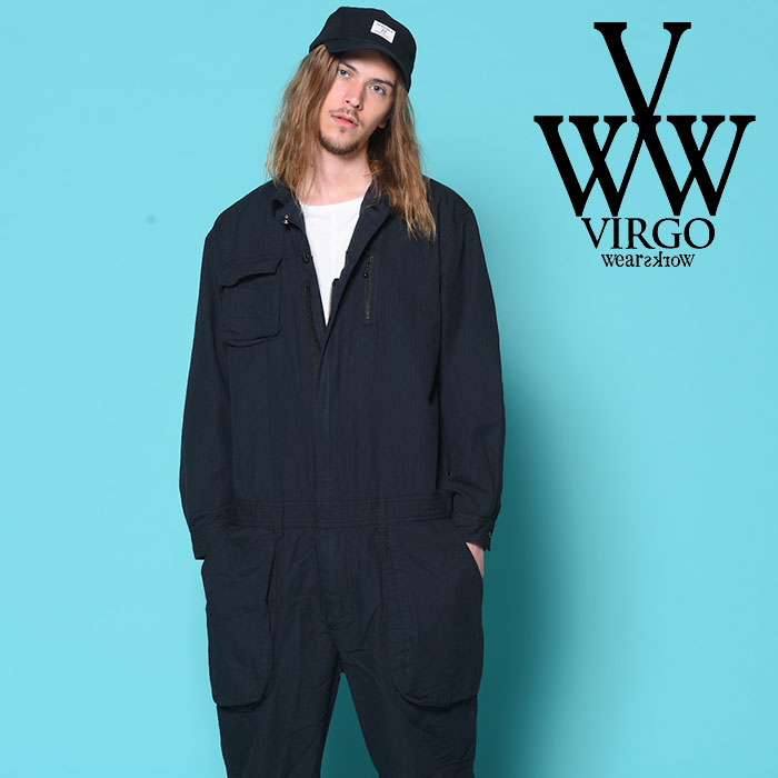 VIRGO(ヴァルゴ) VGW JUMP SUIT 【2018-19HOLIDAY/SPRING新作】【送料無料】 【VG-JKT-202】【ツナギ】
