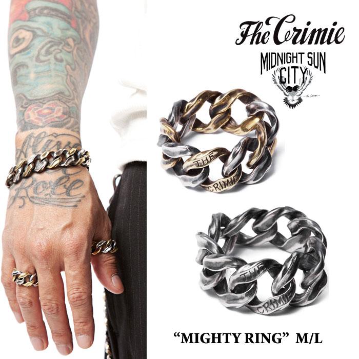 CRIMIE(クライミー) MIGHTY RING MIDDLE 【2018SPRING/SUMMER先行予約】 【送料無料】【キャンセル不可】 【CRIMIE リング】【C1