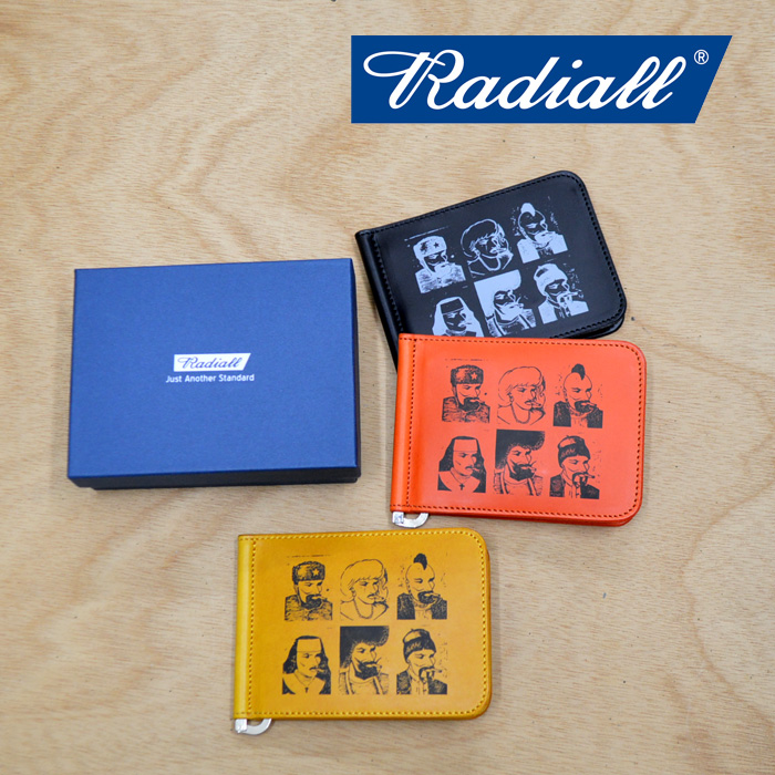 RADIALL(ラディアル) PASS -MONEY CLIP BILLFOLD 【2018 AUTUMN & WINTER COLLECTION】 【RAD-18AW-ACC002】