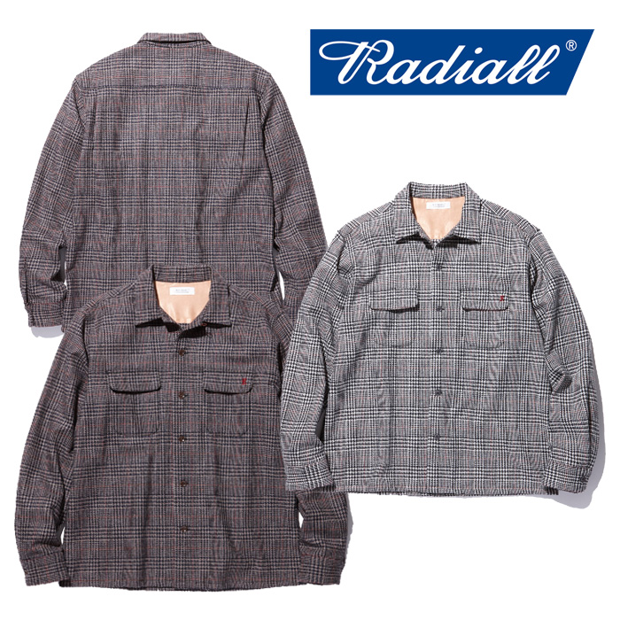 RADIALL(ラディアル) INPERIAL-OPEN COLLARED SHIRT L/S 【2018 AUTUMN & WINTER COLLECTION】 【RAD-18AW-SH004】