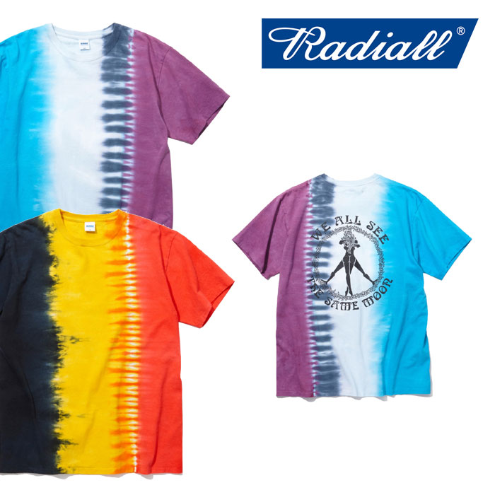 【SALE】 RADIALL(ラディアル) ARABICAN - CREW NECK T-SHIRT 【2018 SPRING&SUMMER新作】 【RADIALL Tシャツ】 【RAD-18SS-TE0