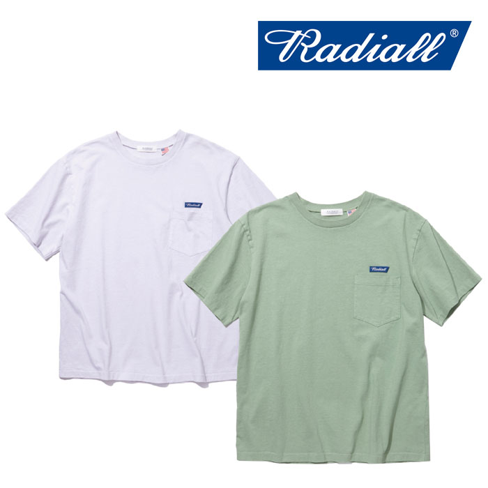 RADIALL(ラディアル) FLAGS - CREW NECK POCKET T-SHIRT 【2018 SPRING&SUMMER新作】 【RADIALL Tシャツ】 【RAD-18SS-TE011】