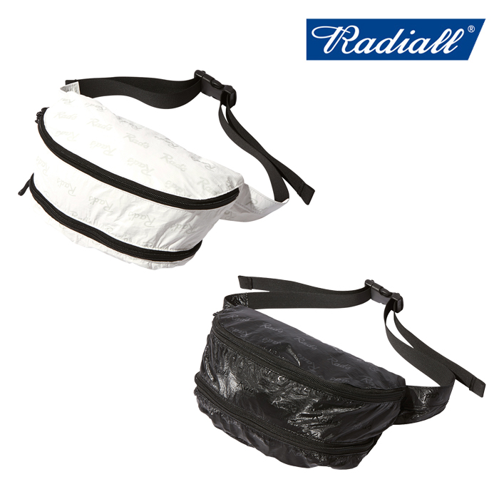 RADIALL(ラディアル) RAD'S - FANNY PACK 【ウエストバッグ】【2020 AUTUMN&WINTER COLLECTION】【RAD-20AW-BAG001】