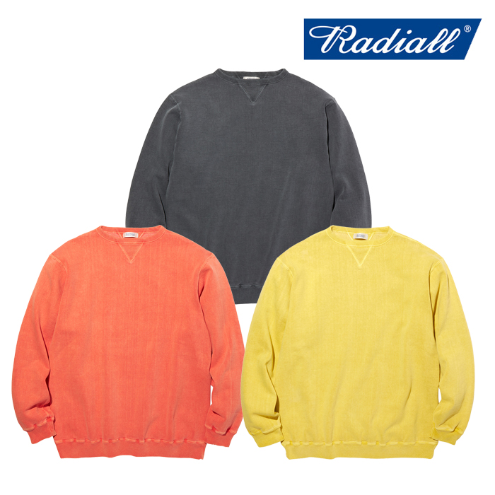 RADIALL(ラディアル) NOVA - CREW NECK SWEATSHIRT L/S 【スウェット】【2020 AUTUMN&WINTER COLLECTION】【RAD-20AW-CUT001】