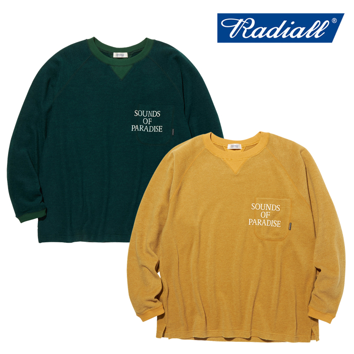 RADIALL(ラディアル) SOP - CREW NECK POCKET T-SHIRT L/S 【ロングスリーブTシャツ】【2020 AUTUMN&WINTER COLLECTION】【RAD-20A